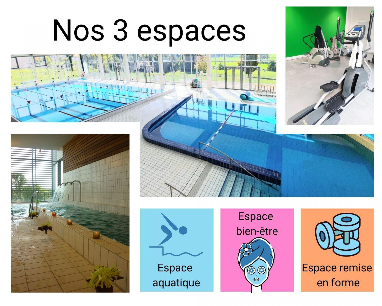 les 3 espaces